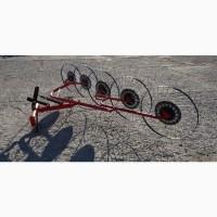 Грабли ворошилки 5 колёсные