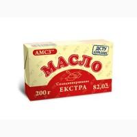 Масло сладкосливочное экстра АМСЗ 82, 0% упаковка 200 гр