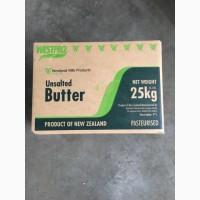 Продаем масло сладко-сливочное 82, 5% монолит 25кг WESTLAND Новая Зеландия