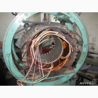 Капитальный ремонт электродвигателей от 0, 18 до 315, 0 кВт различных модификаций и серий