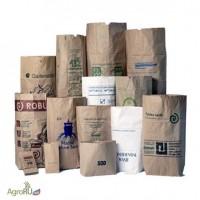Бумажные мешки под удобрения, корма, премиксы, витаминные добавки, семена, сухое молоко