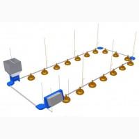 Автоматизированные системы сухого кормления птицы