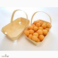 Эко упаковка из шпона для фасовки фруктов