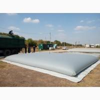 Мягкие резервуары GidroBak до 1000м3 для КАС