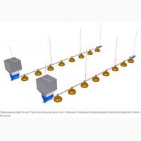 Спиральные (шнековые) системы кормления