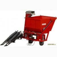 Машина для уборки семян лука