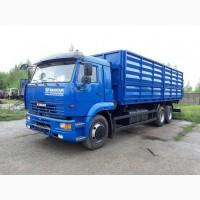 Камаз 6511 зерновоз (двс КАМАЗ-280 л.с. КПП-ZF)
