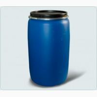 Продаю бочки пластиковые 227 литров (крышка-хомут) б/у