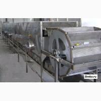 Бланширователь ковшовый, шнековый для термической обработки овощей и фруктов