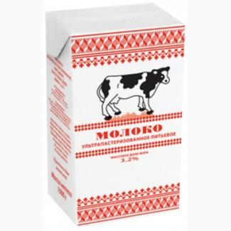 Молоко Коломенское 3.2% ТБА ультра пастеризованное