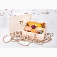 Подарочный фруктовые ящики