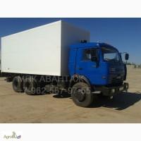 Камаз 65115 изотермический фургон