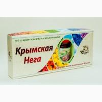 Фиточай и кизиловое варенье в наборе Крымская нега (3 чая и баночка варенья)