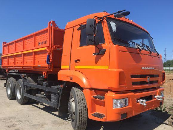 Самосвалы-зерновозы на шасси КАМАЗ-65115, КАМАЗ-43118 ...
