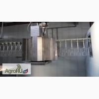 Линия убоя бройлеров производительностью 300-500 голов в час