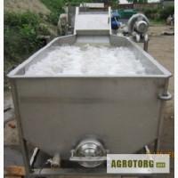 Машины вентиляторгые для отмачивания овощей от засохшей земли
