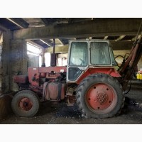Трактор-экскаватор юмз-6
