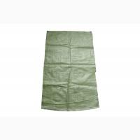 Мешок полипропиленовый зеленый, эконом