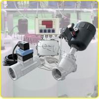 Дозатор проточный c контроллером дозирования