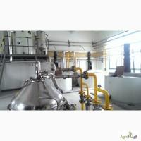 Линия рафинации подсолнечного масла производительностью 40-60 тонн/сутки