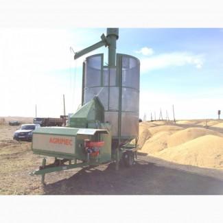 Услуга сушки зерна. Аренда зерносушилки Агримек (Agrimec)