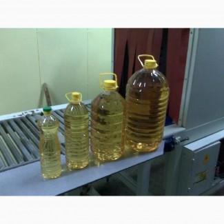 Масло подсолнечное рафинированное в ПЭТ на экспорт