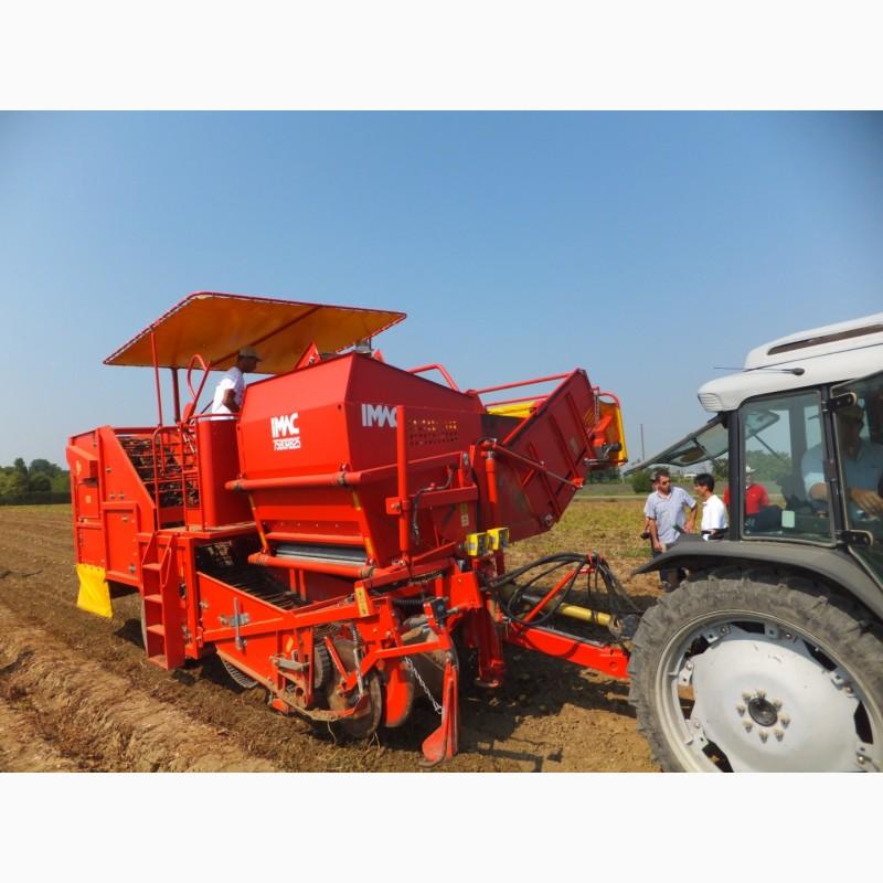 Фото 7. Техника для возделывания лука и картофеля Imac