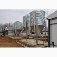 Бункеры (силосы) для корма