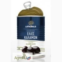 Консервированные оливки черные и зеленые s.s.mammoth 70/90 Latrovalis -Greece 800 мл жесть