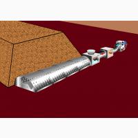 Установка продувки и охлаждения сахарной свёкля в кагатах
